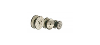 NOCH NO 14638 - Bobines de câble, 3 pièces