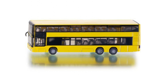 Modélisme ferroviaire : SIKU1884 - Bus urbain à 2 ponts