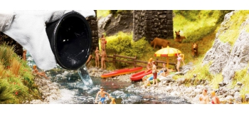 NOCH NO 60858 - Eau de lac ou rivière en pot