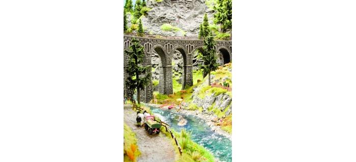 Train électrique : NOCH NO 60858 - Eau de lac ou rivière en pot
