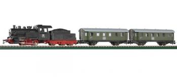 Modélisme ferroviaire : PIKO PI 57110 - Coffret de départ analogique vapeur DB