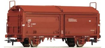 Train électrique : ROCO R66913 - Wagon toit coulissant SJ