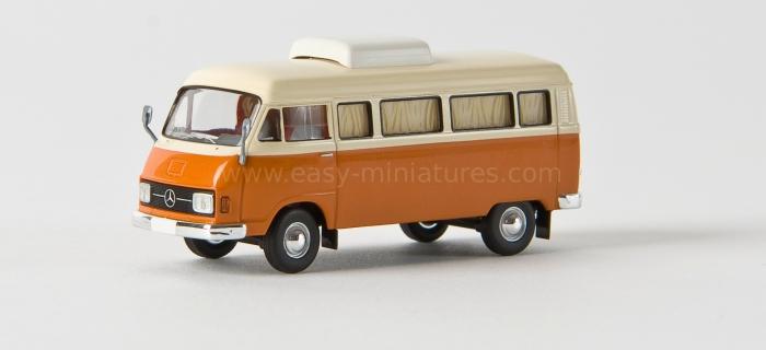 BREKINA 13252 Camping Car Mercedes Benz L 206 D