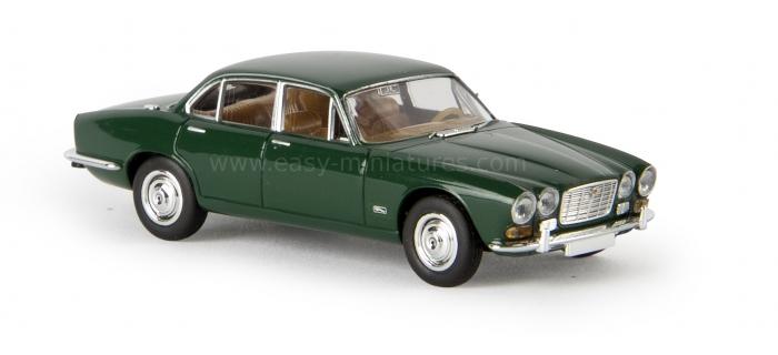 BREKINA 13652 - Jaguar XJ6, vert foncé