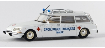 sai 2881 BREKINA 14207 Citroen ID break, ambulance Croix Rouge Francaise