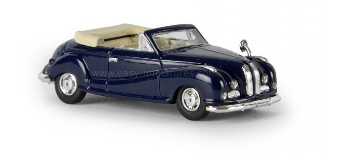 BREKINA 24500 - BMW 502 Cabrio, bleu acier