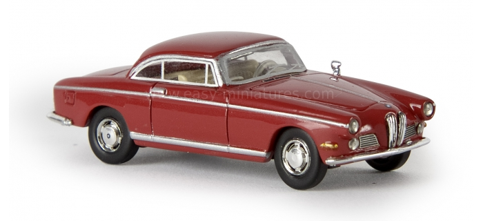 BREKINA 24505 - BMW 502 coupé, rouge bordeau