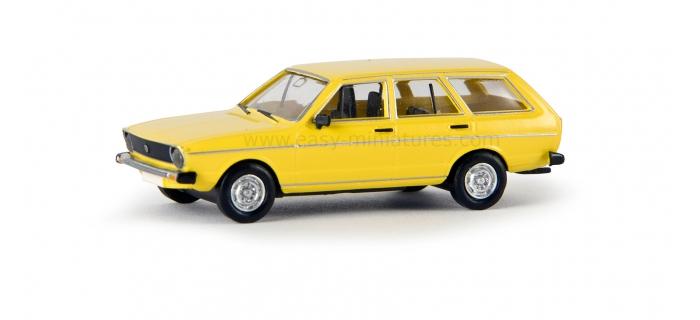 BREKINA 25602 - VW Passat Variant 1974, jaune