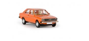 BREKINA 28201 - Audi 80, 1972, rouge corail