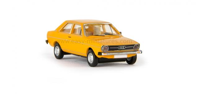 BREKINA 28202 - Audi 80, 1972, jaune