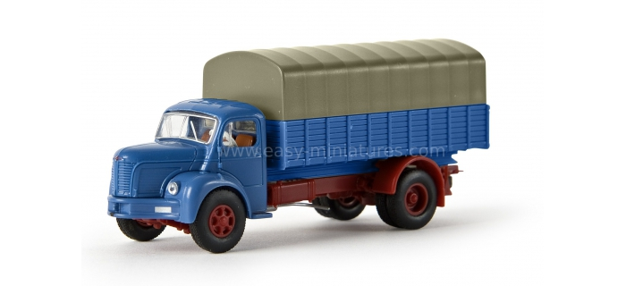 SAI 2621 BREKINA 85301 Berliet GLR 8 , bleu / gris