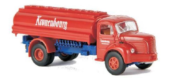 SAI 2612 / BREKINA 85305 Camion citerne Berliet GLR 8