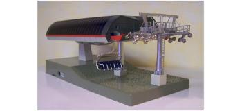 Modélisme ferroviaire : JC82464 - Remontée mécanique - set de 6 télésièges