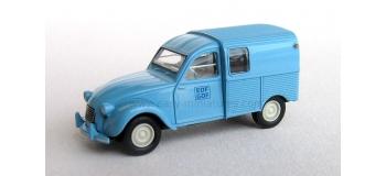 SAI 2043 / BREKINA 14113 - Citroen 2 CV fourgonnette 1961 AZU