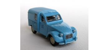 BREKINA 14113 - Citroen 2 CV fourgonnette 1961 AZU
