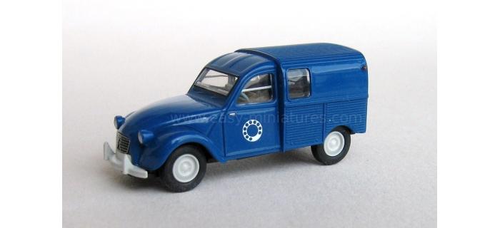 SAI 2047 / BREKINA 14115 - Citroen 2 CV fourgonnette 1961 AZU