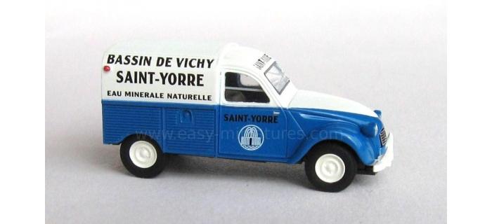 SAI 2069 / BREKINA 14140 - Citroen 2 CV fourgonnette 1961 AZU
