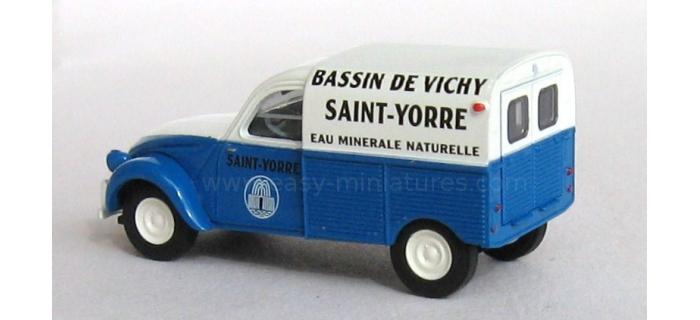 BREKINA 14140 - Citroen 2 CV fourgonnette 1961 AZU