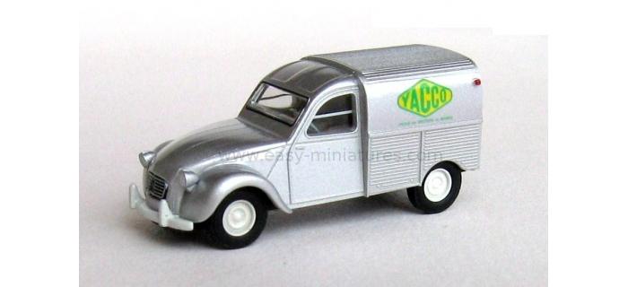 SAI 2071 / BREKINA 14139 - Citroen 2 CV fourgonnette 1961 AZU