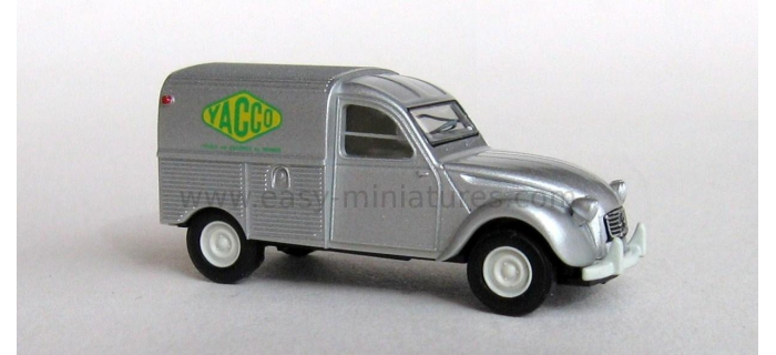 BREKINA 14139 - Citroen 2 CV fourgonnette 1961 AZU