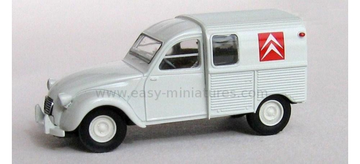 SAI 2072 / BRE 14143 - Citroen 2 CV fourgonnette 1961 AZU