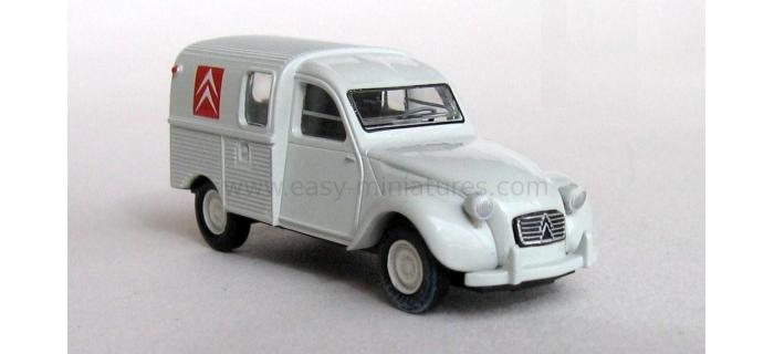 BRE 14143 - Citroen 2 CV fourgonnette 1961 AZU