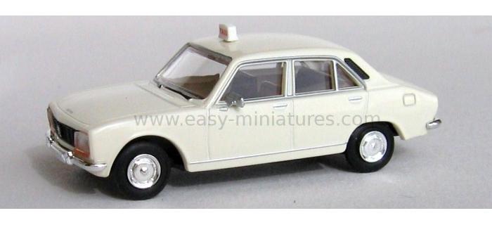 Peugeot 504 taxi, blanc