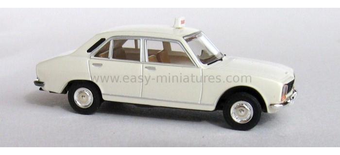 BREKINA SAI 2095.1 - Peugeot 504 taxi, blanc