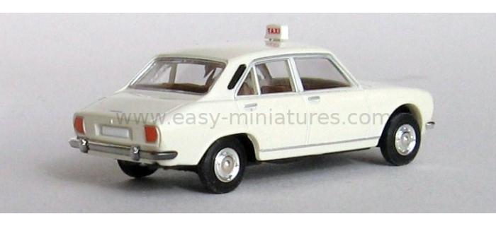 BREKINA 2095.1 - Peugeot 504 taxi, blanc
