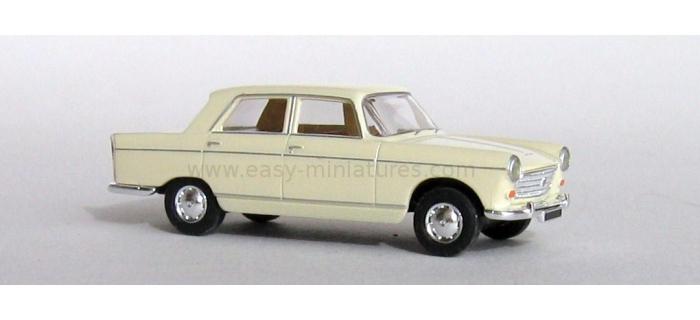 brekina SAI 2115 - Peugeot 404 ivoire