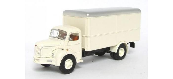 brekina  SAI 2600 - Camion tolé Berliet GLR 8, ivoire