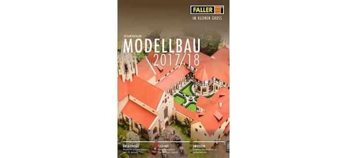 Modélisme ferroviaire : Catalogue Faller 2017-2018