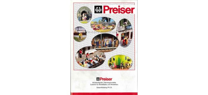 PREISER 93048 - Catalogue général Preiser