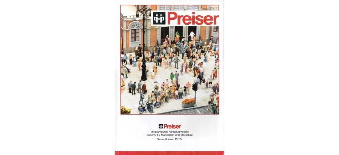 Catalogue Preiser
