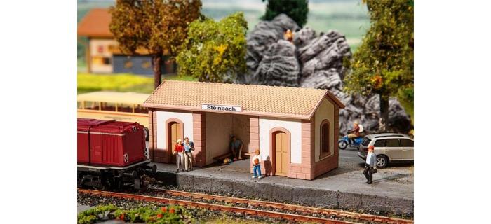 Modélisme ferroviaire : FALLER F110086 - Arret de Steinbach