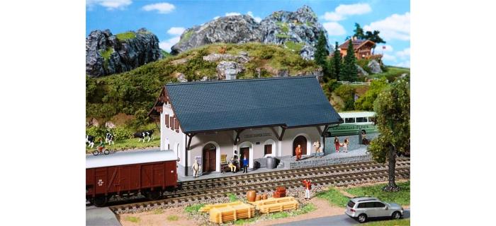 Modélisme ferroviaire : FALLER F110126 - Gare de GUARDA