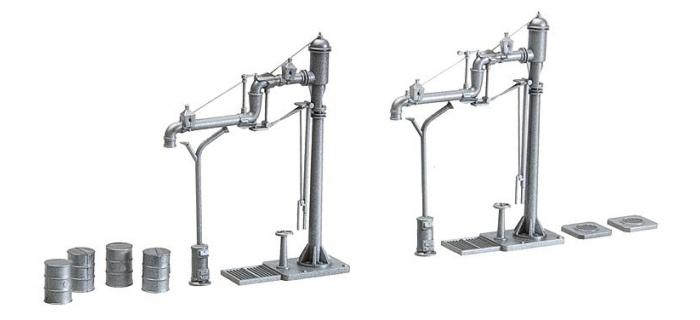 modelisme ferroviaire diorama faller 120137 grue à eau