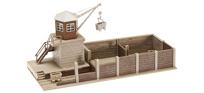 modelisme ferroviaire faller 120147 depot de charbon diorama