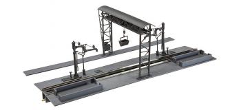 Modélisme ferroviaire : FALLER F120149 - Installation de décrassage avec grue-portique