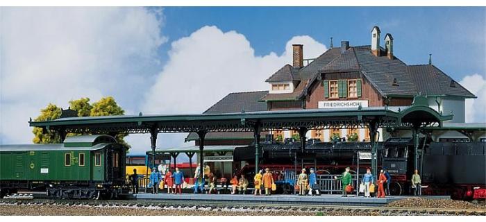 faller 120181 quai de gare modelisme ferroviaire