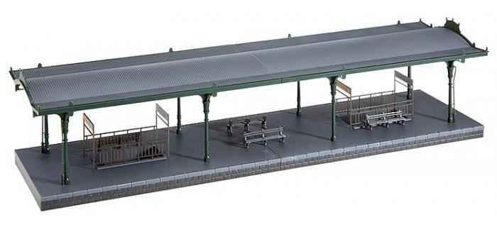 faller 120181 quai de gare diorama