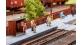Train électrique : FALLER F 120219 - Salle d'attente, portillon