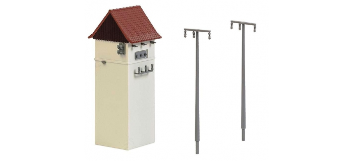 FALLER F120241 - Transformateur et pylone