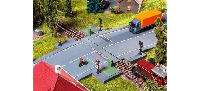 Train électrique : FALLER F120244 - Barrière passage à niveau