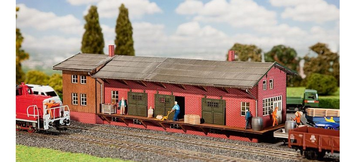 faller 222112 Gare Marchandises modelisme ferroviaire