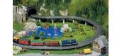 modelisme ferroviaire FALLER 120470 Rampe composée