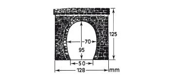 faller 120563 - 2 entrées de tunnel, traction électrique