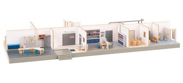 Modélisme ferroviaire : FALLER F180168 - Atelier avec aménagement intérieur