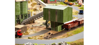 Train électrique :   FALLER F130171 - Tour de chargement usine de ballast