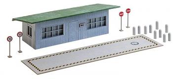 FALLER F130172 - Bascule à camions avec bureaux